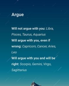 Its Funny how some Horoscope Signs will argue and some wont. This is So True. funny Its Funny how some Horoscope Signs will argue and some wont. This is So True. Zodiac Sign Traits, Zodiac Signs Sagittarius, My Zodiac Sign, Zodiac Quotes, Astrology Zodiac, Zodiac Facts, Zodiac Memes, Horoscope Capricorn, Zodiac Signs Meaning