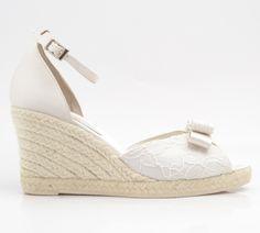 e70ca2551f6 Apargata de novia - bridal shoes - www.pattuka.com