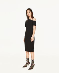 ZARA - WOMAN - ONE SHOULDER ASYMMETRIC DRESS