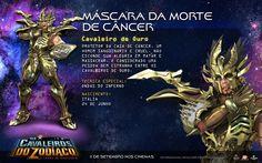 Death Mask de Cancer..CDZ: A Lenda do Santuário Rules!!
