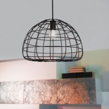 Żyrandol Loft Industrial lampa metalowa czarna złota