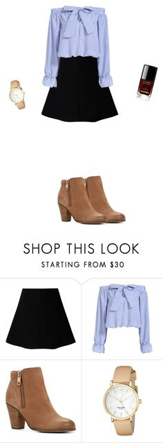 """""""Untitled #91"""" by doda-laban on Polyvore featuring RED Valentino, ALDO, Kate Spade and Chanel"""