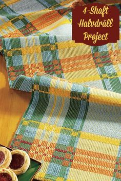 Weave up this gorgeous handwoven table runner in harvest colors and start transitioning from summer to fall!