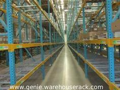 Used Teardrop Pallet Rack will provide Your warehouse full optimizing of its workspace! Visit us and check out! #http://genie.warehouserack.com/UsedTeardropPalletRackMenu.aspx