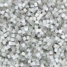 DB0679 - Gray Satin Delica Beads  - Size 11