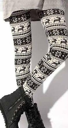 Love winter leggings- fair isle