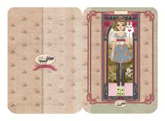 5 Designer greeting Cards with envelope by Oxfordoll by Oxfordoll