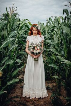 If you are a boho bride, Etsy has the best selection of Bohemian Bridal Gowns and Boho Wedding Dresses, Boho Wedding Decor, backdrops and ideas. Dresses Elegant, Elegant Wedding Gowns, Lace Wedding Dress, Wedding Dresses For Sale, Wedding Dress Shopping, Modest Wedding Dresses, Perfect Wedding Dress, Bridal Dresses, Vintage Dresses
