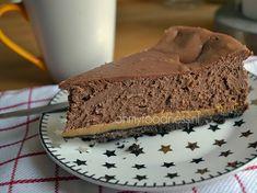 Oreo-karamel-chocoladecheesecake - OhMyFoodness (Ik heb deze taart al eerder gezien op fb en gemaakt met 800 gram verse roomkaas (500 mascarpone, 300 monchou) Erg lekker