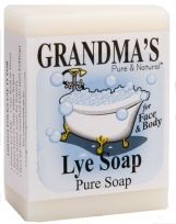 Lye soap works wonders for acne and oil