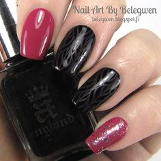 Nail Art By Belegwen: Two polishes from Essence Got my list -set and A England Camelot