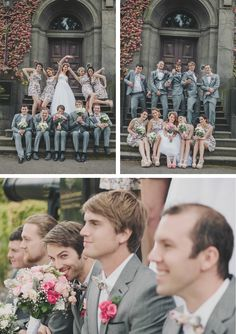Kate & Andrews Melbourne Wedding Bridal Party Shoot