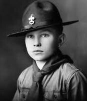 """Neil Armstrong 1940s in BSA uniform. Eagle Scout and Commander of Apollo XI named the Module which was to carry him and two other astronauts to the surface of the Moon, 'Eagle'. A couple of days before he went on 'Eagle' to land on the surface on the Moon, Armstrong managed to send a radio message to wish young Scouts a good time while camping at the National Jamboree of Boy Scouts of America. On July 18, 1969, while flying towards the Moon, he greeted the Scouts: """"I'd like to say hello to…"""
