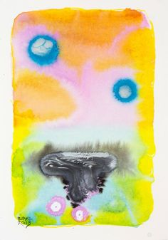 Petri 14 (oil eaters) - 10 1/4 x 7 inches - watercolor and ink on paper - 2013 Blake Brasher