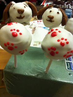 CAKE POPS for Littlest Pet Shop party