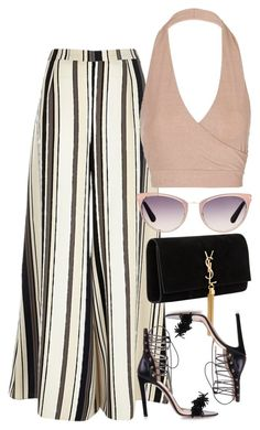 """Untitled #1715"" by erinforde ❤ liked on Polyvore featuring River Island, Yves Saint Laurent, Topshop, Tom Ford and Alessandro Dell'Acqua"