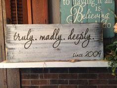 Groceries & Dry Goods distressed sign, hand made, hand painted, pallet wood Distressed Wood Signs, Barn Wood Signs, Wooden Signs, Home Decor Sites, Home Decor Hacks, Barn Wood Crafts, Diy Rustic Decor, Pallet Painting, How To Distress Wood