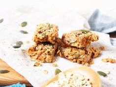Energy bars with oats and seeds by Life Morning Photography on @creativemarket
