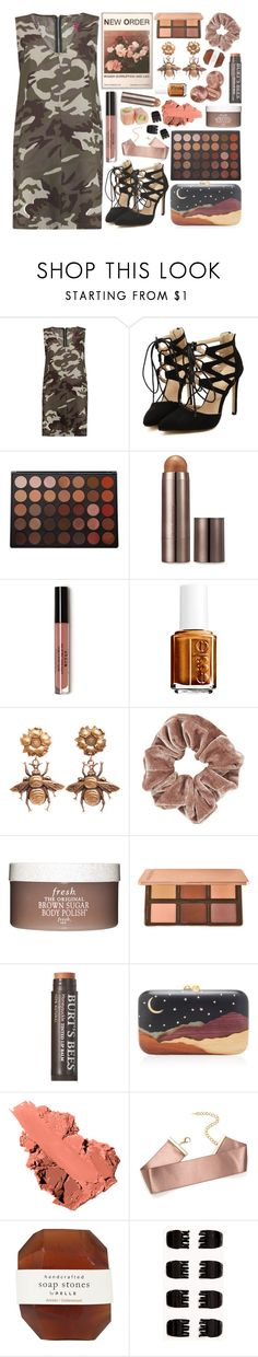 """//""Don't worry about me, mind your own business.""\\"" by k-pop-things-and-such ❤ liked on Polyvore featuring Morphe, Laura Mercier, Essie, Joseff of Hollywood, Topshop, Fresh, Burt's Bees, Silvia Furmanovich, Bobbi Brown Cosmetics and Pelle"