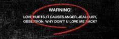 Twitter Header Pictures, Love Hurts, Jealousy, Yandere, Sick, Album, Sayings, Headers, Bts Header