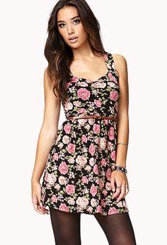 I've got the same exact dress - Forever21 floral dress