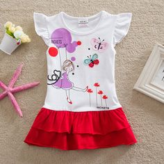 NEAT baby girl clothes embroidered little girl tutu summer dress round collar cotton dresses kids clothes character girl Baby Outfits, Kids Outfits Girls, Cute Outfits For Kids, Baby Girl Dresses, Kids Girls, Girls Fashion Clothes, Kids Fashion, Cotton Frocks For Kids, Kids Clothes Sale