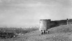 view from the tower of Trigoni Thessaloniki Greece Pictures, Old Pictures, Old Photos, Thessaloniki, Macedonia, Greek, Louvre, Tower, Memories
