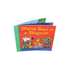 Maisy Goes On A Sleepover - English Wooks