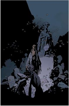 Mike Mignola - Hellboy in Hell, the descent