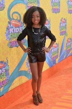 Skai Jackson - Jessie. I know she has to be past warm in that.