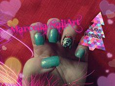 #natale #topolino #nails #nailart #decorazione