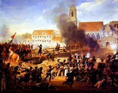 (1809, Apr. 21) Battle at Landshut - French victory over the Austrians