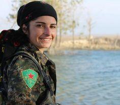 Kurdish YPG Fighter by Kurdishstruggle http://flic.kr/p/AAgxNh