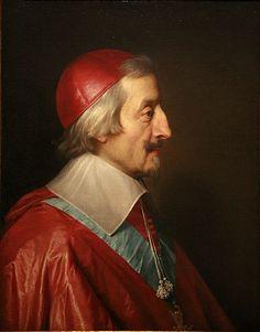 Cardinal de Richelieu, Philippe de Champaigne, oil on canvas, 1642.