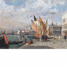 El Molo y Bacino di San Marco, Venecia