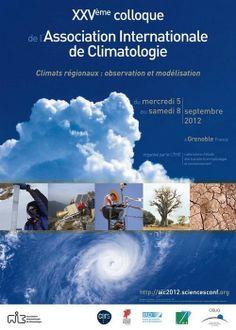 25ème colloque de l'Association internationale de climatologie (du 5 au 8 septembre 2012)