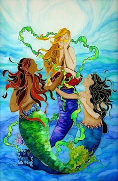 Girlfriends Caribbean Artwork