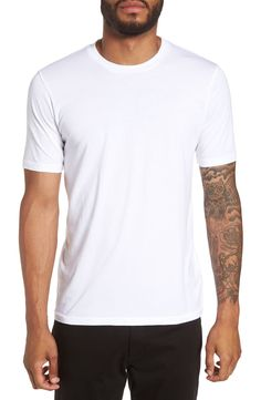 online shopping for Goodlife Classic Supima Cotton Blend Crewneck T-Shirt from top store. See new offer for Goodlife Classic Supima Cotton Blend Crewneck T-Shirt Champion Reverse Weave Sweatshirt, T Shirt Vest, Cool Sweaters, Tshirts Online, Shirt Style, Crew Neck, Mens Fashion, Cotton, Mens Tops