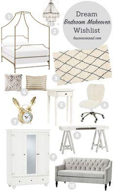 lauren conrad's dream pbteen bedroom makeover