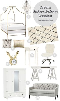 lauren conrad's dream pbteen bedroom makeover
