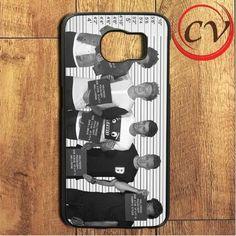 1d One Direction Samsung Galaxy S6 Edge Case