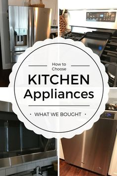 How to Choose Kitchen Appliances|What We Bought and Why|Kitchen tips|House life|Best appliances|Home