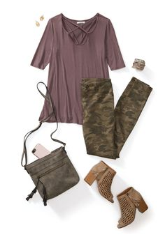 4 Ways to Wear 1 Shirt - Outfits for Work - 4 Ways to Wear 1 Shirt - Fall Outfits For Work, Fall Winter Outfits, Summer Outfits, New York Outfits, Stitch Fit, Camo Fashion, Stitch Fix Outfits, Outfit Posts, Outfit Ideas
