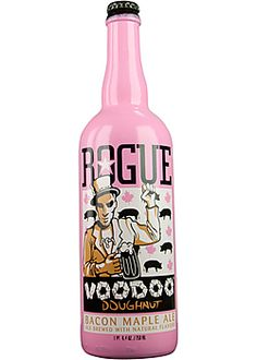 Rogue VooDoo Bacon Maple Ale.  Have to admit I'm intrigued..  beer + bacon