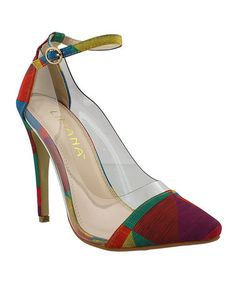 Look what I found on #zulily! Rainbow Olga Pump by Liliana Footwear #zulilyfinds
