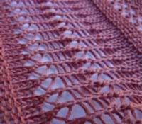 Crochet-look Lace on the knitting machine - Online Tutorial