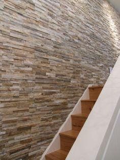an empty wall turned beautiful using a moaner ledge thin veneer stone
