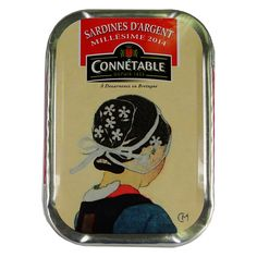 Connetable Sardines with Extra Virgin Olive Oil Millesimes 2014