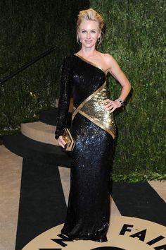 Fotos de la fiesta de Vanity Fair post Oscar 2013: Naomi Watts | Galería de fotos 9 de 33 | Vogue