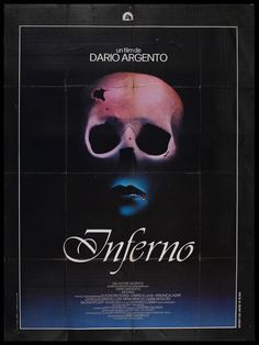Inferno (1980) by Dario Argento The thematic sequel to Suspiria and part of Three Mothers trilogy. One awesome underwater seen the rest is so-so. Suspiria is much better.